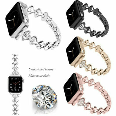 AU15.99 • Buy Bling IWatch Watch Band Strap For Apple Watch Series 6 5 4 3 2 38/40mm 42/44mm