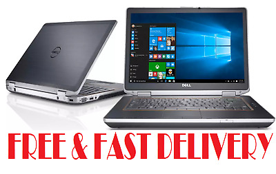 CHEAP Fast Dell Laptop Intel Core I5 8GB RAM 500GB HDMI WiFi Win10 Warranty • 259.99£