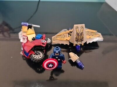 LEGO Marvel Super Heroes Captain America's Avenging Cycle (6865) • 10£