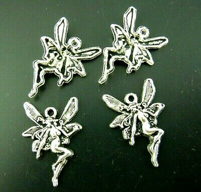 Fairy Charms Tibetan Silver Pendant Pack Of 20 • 2.60£
