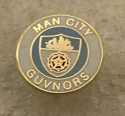 Very Rare Manchester City Supporter Enamel Badge  - Guvnors Hooligans Firm • 5.99£