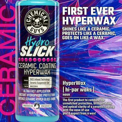 $28 • Buy Chemical Guys HydroSlick Ceramic Coating Hyperwax (16 Oz)