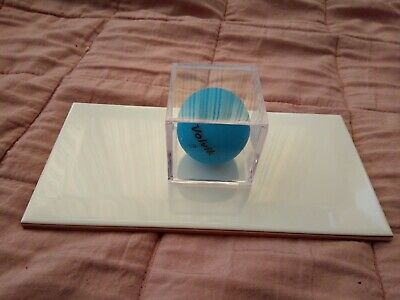 Golf Ball Display Case On Tile Base 'Perfect Golfer Gift Idea' • 3.99£
