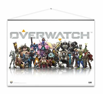 AU37.11 • Buy Overwatch Wallscroll Heroes Poster - Gaming Merchandise