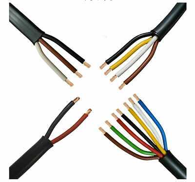 AU393.65 • Buy 2 3 4 7 Core Automotive Trailer Thin Wall Electrical Auto Loom Wire Cable Van