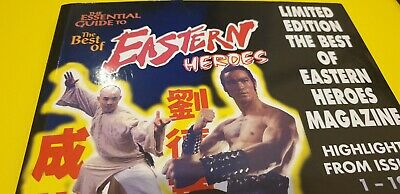 Essential Guide Best Of Eastern Heroes Magazine - 1995 Great Condition Kung Fu  • 35£