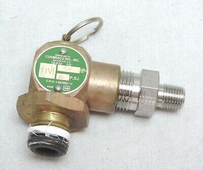 $49.99 • Buy Safety Valve 35 PSI For Midmark Ritter M11 Ultraclave Older Autoclave Parts M9