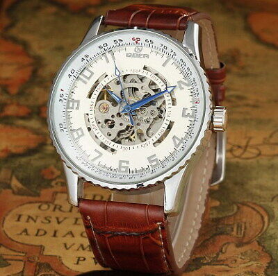 £19.15 • Buy Fathers Mens Best Gift  Watch Goer Automatic Mechanical Watch Hollow  Mechanical