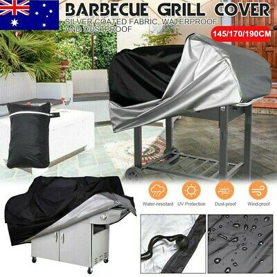 AU21.49 • Buy BBQ Cover 2/4/6 Burner Weather Proof Tear Resistant Outdoor Grill Protector AU