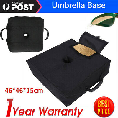 AU16.95 • Buy Weight Sand Bag For Umbrella Base Stand Detachable Bags  Patio Outdoor AU SHIP