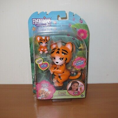 AU42 • Buy WowWee Fingerlings BENNY The Purrrfect Tiger Electronic Pet Toy NEW