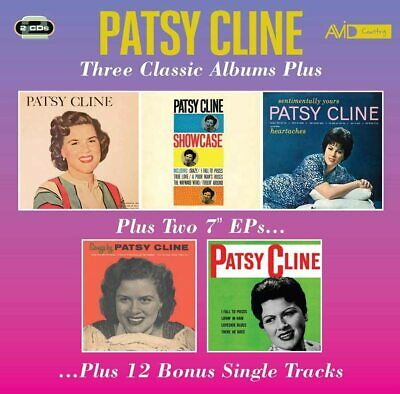 Patsy Cline - Three Classic Albums [New & Sealed] 2 CDs • 5.49£