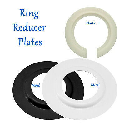 Metal/Plastic Lamp Shade Ring Reducer Plate Light Fitting Ring Washer Adapter UK • 1.49£