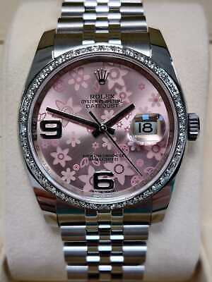 $ CDN11493.70 • Buy Rolex Datejust 116200 36mm Box And Papers 2018 Diamonds (51)