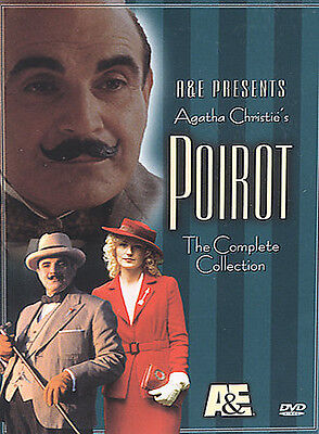 £14.11 • Buy Poirot - The Complete Collection (DVD, 2002, 4-Disc Set)