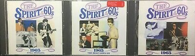 3xTime Life~Spirit Of The 60s~1963+Still Swinging+ The Beat Goes On • 14.49£