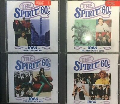 4xTime Life~Spirit Of The 60s~1965+Still Swinging+Hits Don't Stop+ Beat Goes On • 19.49£