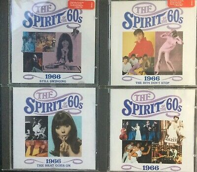 4xTime Life~Spirit Of The 60s~1966+Still Swinging+Hits Don't Stop+ Beat Goes On • 19.49£