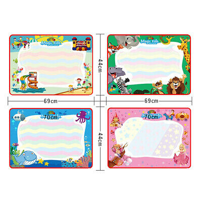 £12.04 • Buy Water Drawing Mat Reusable Kids Toy Colorful Educational Painting Board
