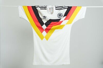 West Germany Adidas Home Football Shirt Re-release 1990 Kit – Rare, Vintage, 10 • 10.50£