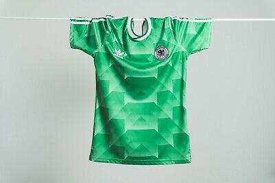 West Germany Adidas Away Football Shirt Re-release 1990 Kit – Rare, Vintage • 13.50£