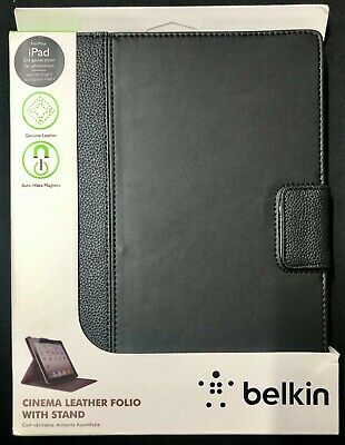 £5 • Buy Belkin Cinema Leather Folio Case Cover With Stand For IPad 2/3 - BLACK