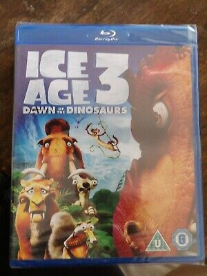 Ice Age 3: Dawn Of The Dinosaurs Blu-ray (2009) SHRINK WRAPPED FREE UK POST • 2.20£