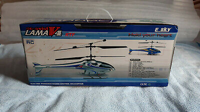 ESKY Lama V4 RC Helicopter - Boxed, Includes Spare Rotor Blades • 69.99£