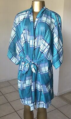 MORGAN TAYLOR INTIMATES Womens Size M/L Kimono Sleeve Belted Night Gown Dress • 14.13£