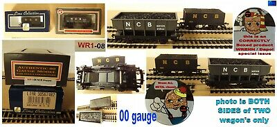 Wrenn Coal Boxed Hopper MINT Dapol & Lima NCB Wagons 00 Gauge Model Railway • 18£