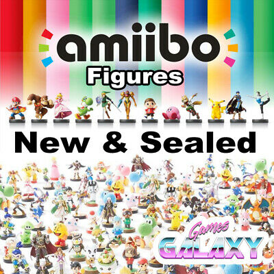 AU62.50 • Buy Official Nintendo Amiibo Figures - New And Sealed