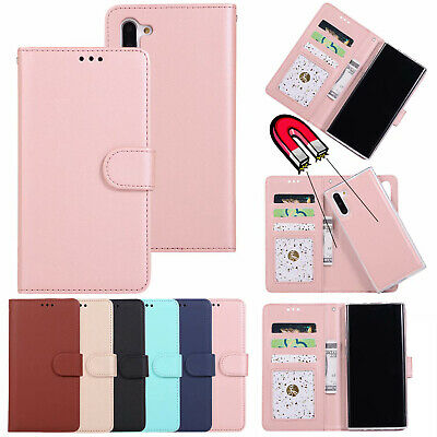 AU16.98 • Buy Removable Magnetic Leather Wallet Case Cover For Samsung S21 S10e S9+ S8 Note 20