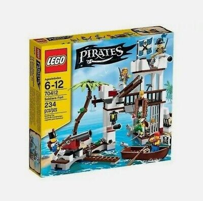 £107.96 • Buy *BRAND NEW* Lego 70412 Pirates Soldiers Fort Retired Rare Set X 1