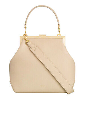 AU249 • Buy OROTON YVETTE Large Frame Clutch With Strap Colour Sand. RRP$499.00