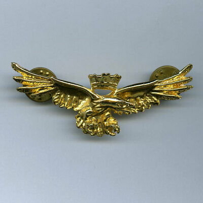 Pin Badge Modern Italian Air Force Pilot's Wings ? Eagle Italy • 2.99£