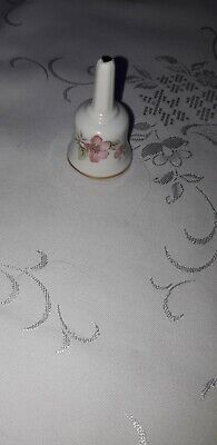 Priory Pottery Small White Bell With Gilt Edging  • 0.99£