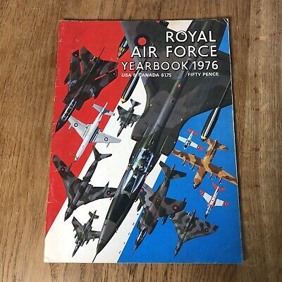 $5.50 • Buy Vintage Royal Air Force Yearbook 1976 Magazine Collectible Aircraft Military