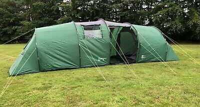 Family Tent Freedom Trail Eskdale 6, Sleeps 6 Green Camping Outdoors • 120£