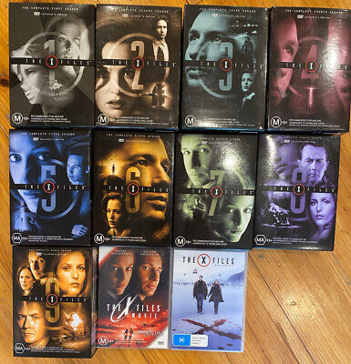 AU105 • Buy X-Files - Series 1-9 Collector's Edition DVD Collection (R4) + 2 Movies