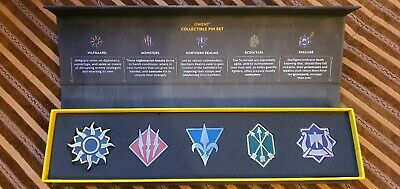 $ CDN151.08 • Buy The Witcher Pin Set Gwent Cards Collectors. New. Very Rare. Gamescom 2017