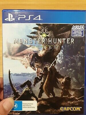 AU3.25 • Buy Monster Hunter World Ps4