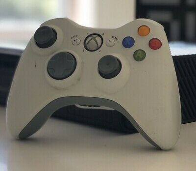 AU37 • Buy Microsoft White Xbox 360 Controller Original Wireless Tested Ready