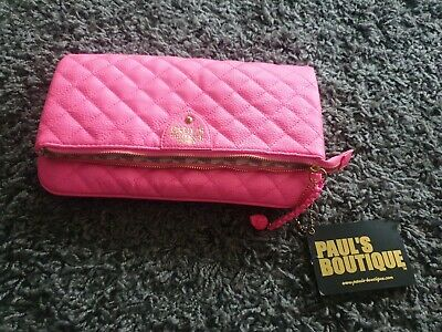 Pauls Boutique Bright Pink Clutch Bag Brand New • 4.99£