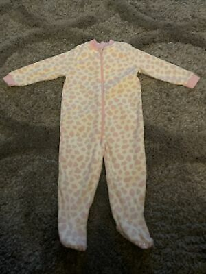 Girls All In One Suit Age 18-24 Months George Animal Print Washed Never Worn • 2£