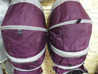*** Baby Jogger City Mini Double - Purple Hood - Spare, Replacement *** • 39£