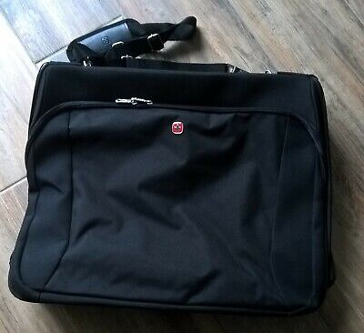 Wenger Swiss Army Gear Holdall Black Travel Suitcase • 18£