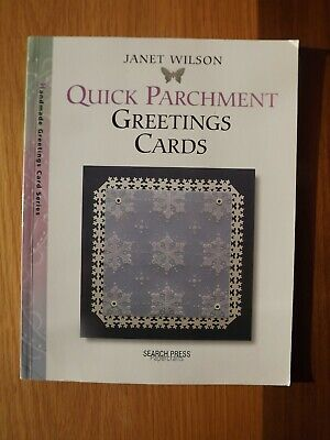 Quick Parchment Greetings Cards - By Janet Wilson • 4£
