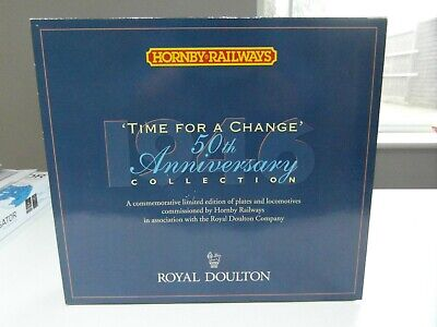 Hornby (lot 2)  Royal Doulton Ltd Edition Time For Change 50th Anniversary R459 • 79.95£