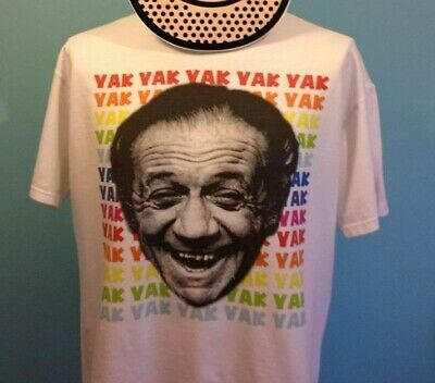 £14 • Buy Sid James Male T Shirt - YakYak Dirty Laugh / Carry On Films / Bless This House