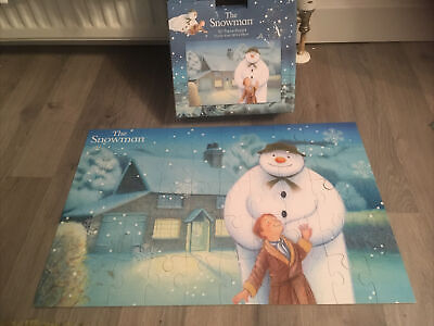 The Snowman 50 Piece Jigsaw Puzzle Aged 3+ Raymond Briggs Boxed Christmas • 4.99£